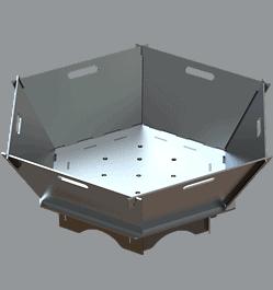 Hexagon Fire Pit DXF Plasma Files