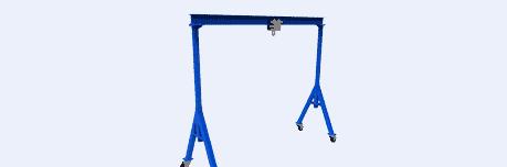 standard blue residential gantry crane