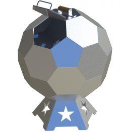 cnc plasma fire pit ball plans