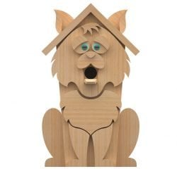 cat birdhouse plans