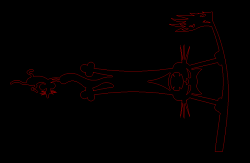 Cat Weathervane DXF Plasma File