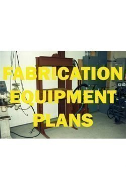Fabrication Equipment Plans For Sale