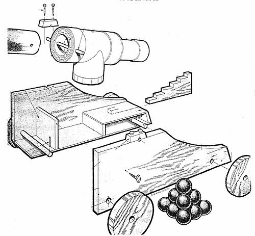 Free PVC Cannon Plans