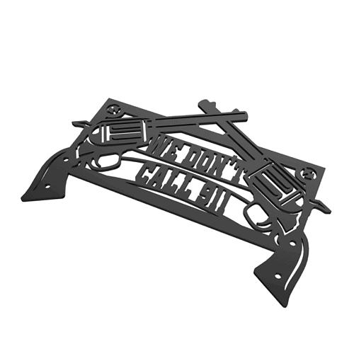 Pistol DXF CNC Plasma File web