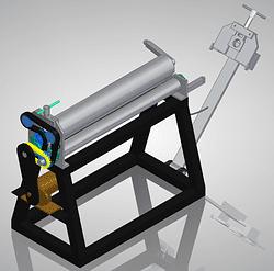 sheet metal roller plans