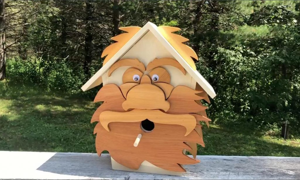 what materials do you need to build a birdhouse
