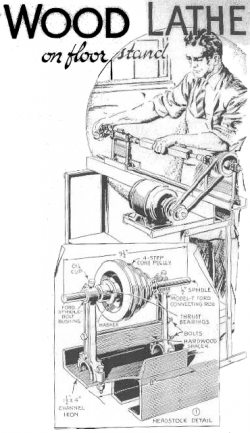 Free Wooden Lathe Plans