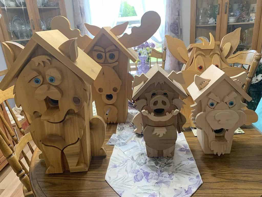 bird house woodcraft patterns