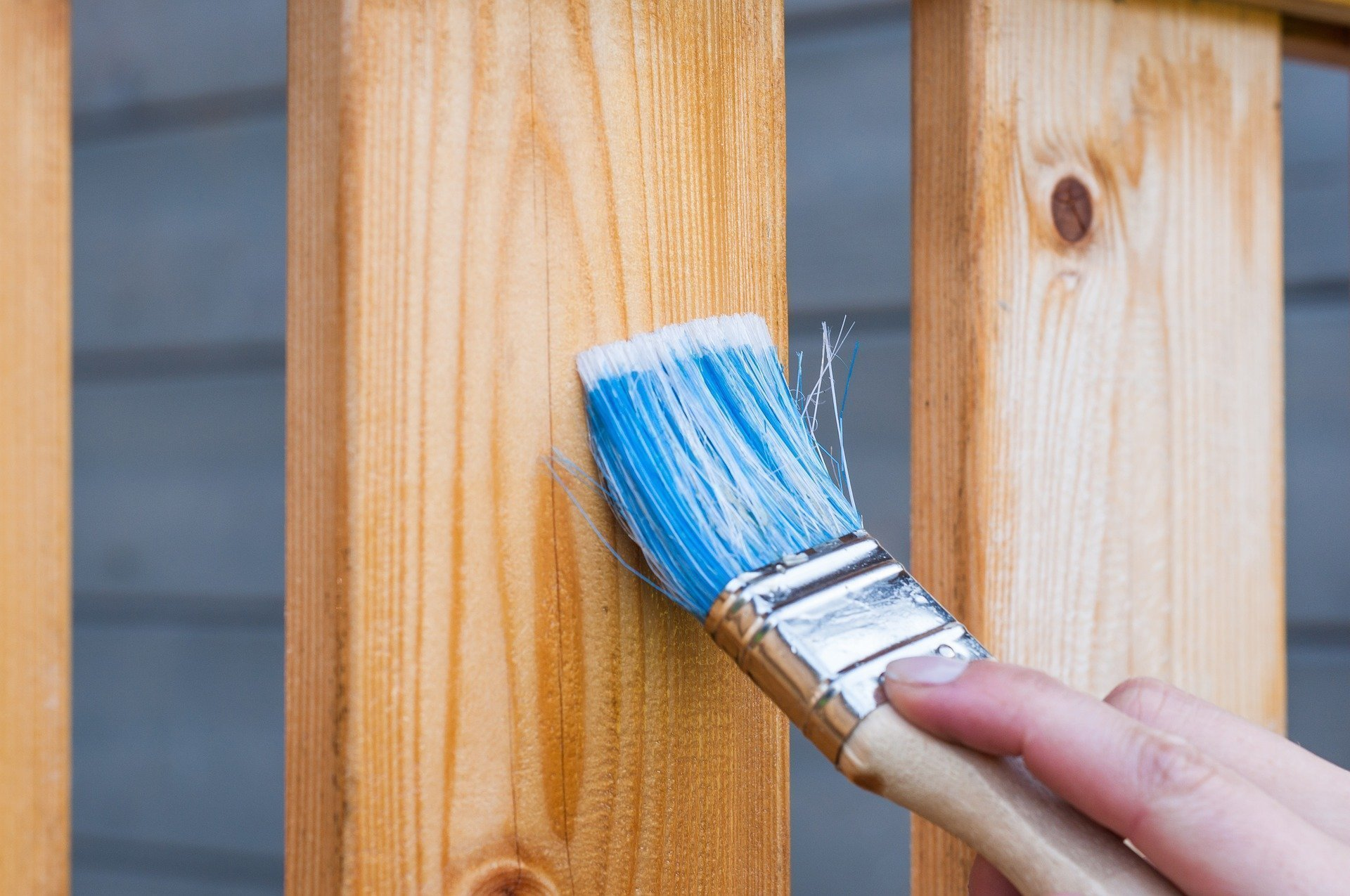 can untreated wood be used outdoors, painting a wooden deck