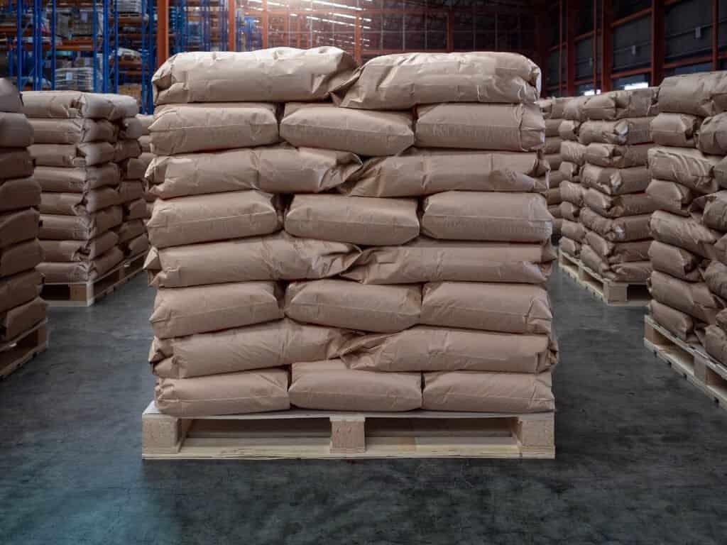 concrete bags
