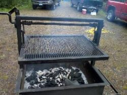 Outdoor Campfire Grill Plans
