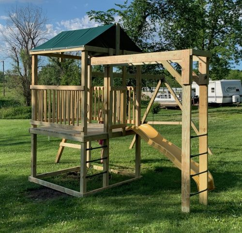 diy outdoor playset plans