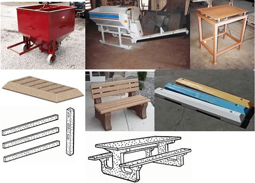 diy precast concrete forms and equipment plans