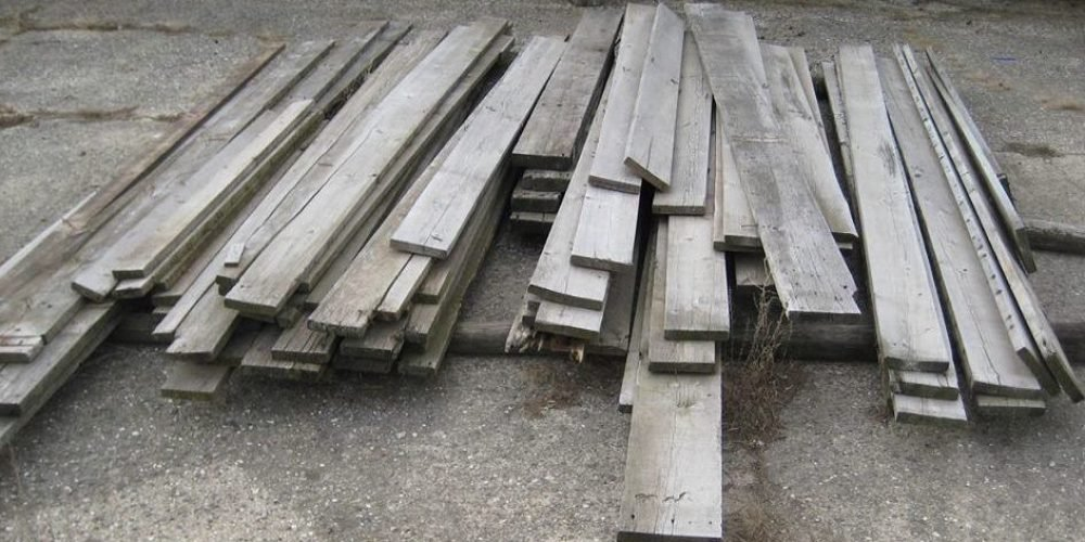 how to make wood look old and gray