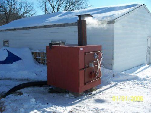 outdoor wood boiler plans