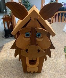 horse birdhouse woodcraft plans