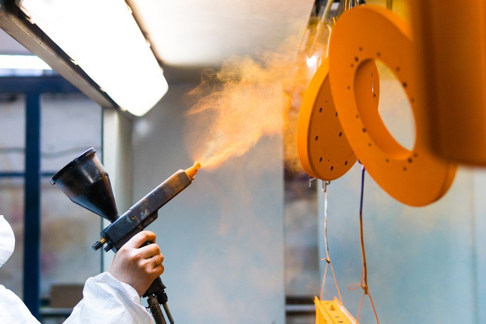 how to remove powder coating