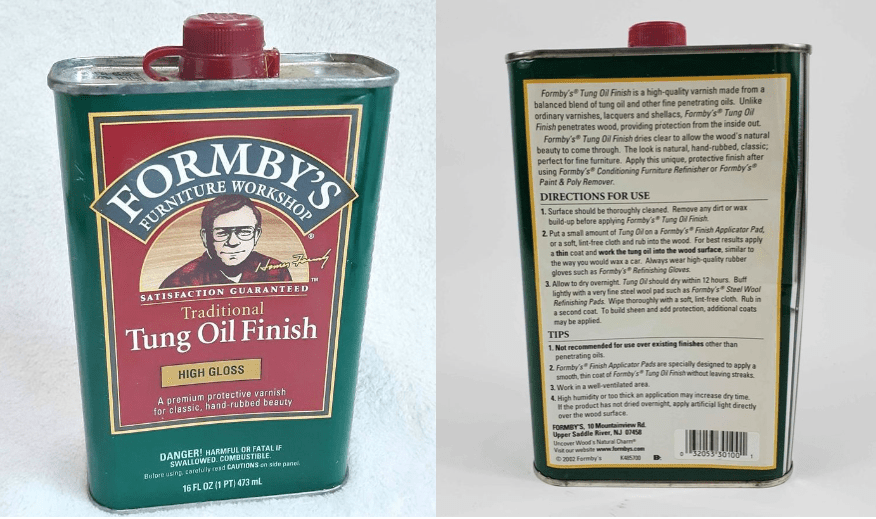 is tung oil toxic