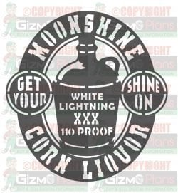 moonshine jug shine on dxf cnc plasma file