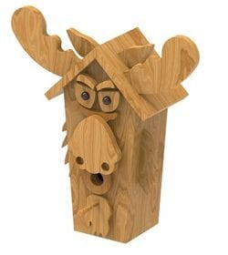 cedar-moose-birdhouse-plan