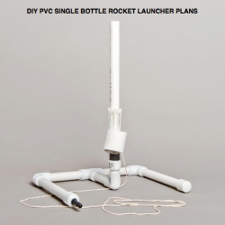 pvc single bottle rocket launcher plans
