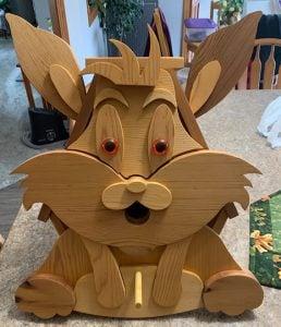 rabbit birdhouse woodcraft patterns