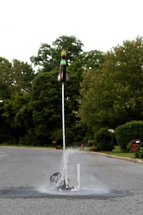 pvc bottle water rocket launcher