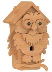 owl birdhouse patterns