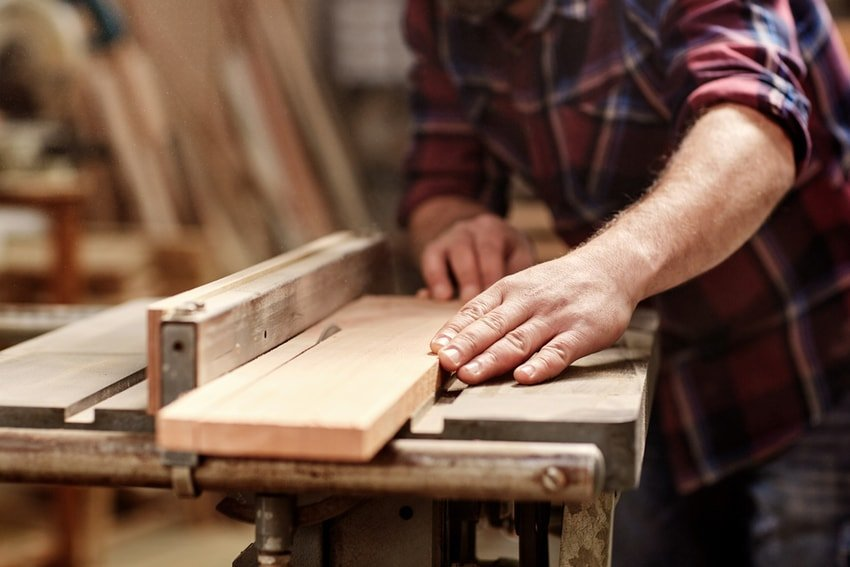 making furniture out of wood